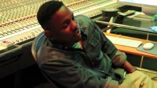 Kendrick Lamar & Dr. Dre en studio