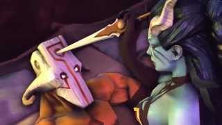 getlinkyoutube.com-Dota 2 sfm Juggernaut + Queen of Pain =?