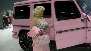 getlinkyoutube.com-OFFICIAL PINK G-WAGON CAR TOUR!