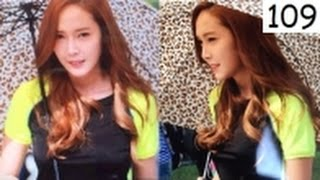 getlinkyoutube.com-Once SNSD . Jessica Jung . 160929 . 160930 . Day 1&2 . On location filming Yes Coach Beijing, China