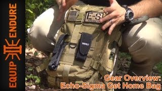 getlinkyoutube.com-Echo Sigma Emergency Get Home Bag Overview, by Equip 2 Endure