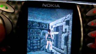 getlinkyoutube.com-Nokia N-Gage Classic/Original (Taco) Tomb Raider Gameplay