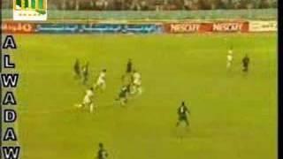getlinkyoutube.com-تمريرة طارق التائب لنادر كاره و هدف ليبيا الأول في مرمى مصر