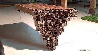 getlinkyoutube.com-Falling Brick Coffee Table