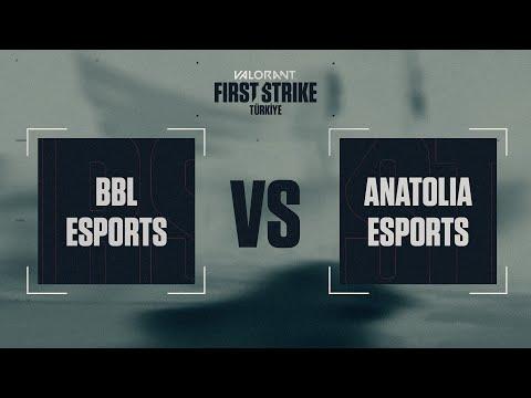 BBL Esports vs Anatolia Esports 1. Harita - Ascent | VALORANT First Strike 1. Açık Eleme Finalleri