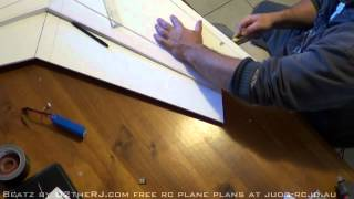 getlinkyoutube.com-RC Zephyr foamboard wing build