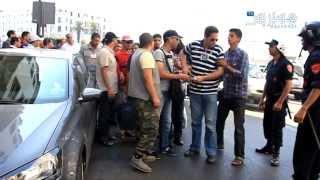 getlinkyoutube.com-Hespress.com: Des chômeurs furieux à Rabat