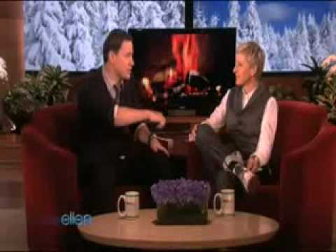 Ellen's Lap Dance from 4 Channing Tatum!(02/10/10)