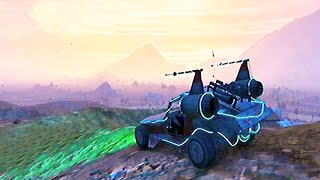 Grand Theft Auto V - All SpaceShip Parts and Buggy Space Docker [GTA5]