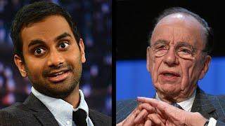 getlinkyoutube.com-Aziz Ansari Utterly Destroys Rupert Murdoch Over Twitter