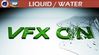 getlinkyoutube.com-Realflow and Cinema 4D Liquid Tutorial