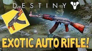 getlinkyoutube.com-Destiny NEW AK-47 / MP-40 EXOTIC Auto Rifle