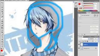 getlinkyoutube.com-วาด Anime ใน Adobe Photoshop CS5 Portable #1-1 /the wole yux