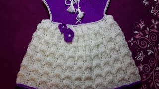 getlinkyoutube.com-1-Платье  спицами \Dress for girls (knit crochet) Stricken (Hobby)