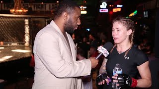 Fight Lab 52 Nicole Hunt: Talks About Her First Round TKO