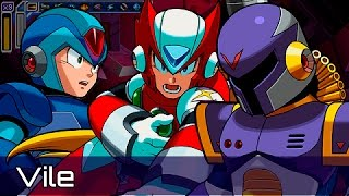 getlinkyoutube.com-[Español] Mega Man Maverick Hunter X [Parte 13] [Vile]