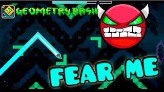 getlinkyoutube.com-GEOMETRY DASH - (Easy Demon) - 29 - Fear Me by Crispy Dash!!!
