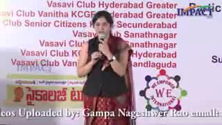 getlinkyoutube.com-must watch and extraordinary speech by Smt Padma pothukuchi