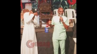 Woli Agba Cried As Femi Adebayo, Yemi Solade and Muyiwa Ademola Donate Lot Of Cash To Launch CD