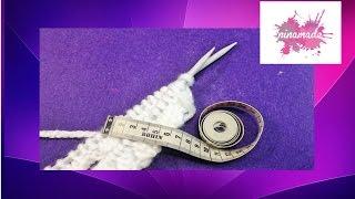 getlinkyoutube.com-Comment calculer les mailles pour  tricoter.