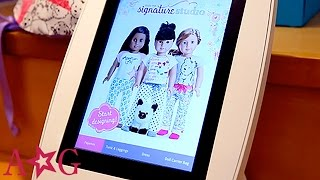 getlinkyoutube.com-Design Your Own Outfit at Truly Me Signature Studio | American Girl