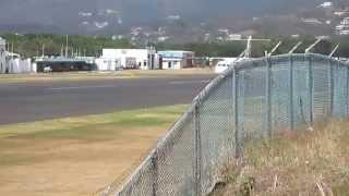 getlinkyoutube.com-Caribbean Airlines ATR 72-600 9Y-TTC Landing St LuciaTLPC