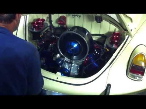 Motor Fusca com Kit Porsche - Primeira Acelereda