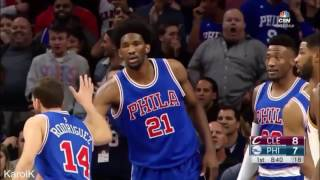 Amazing NBA blocks with beat drops (HD)