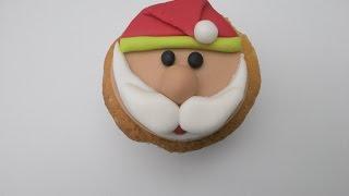 getlinkyoutube.com-Cupcake de Natal