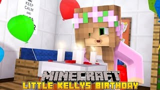 getlinkyoutube.com-Minecraft - LITTLE KELLYS BIRTHDAY!