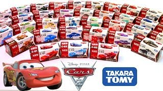 getlinkyoutube.com-Cars 2 Diecast Complete Collection CARS TOON Toys Takara Tomy Disney カーズ・トミカ