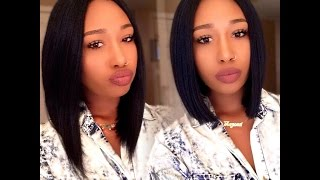 getlinkyoutube.com-2 Minute Wig Transformation  Ft. Vella Vella Diva Wig