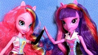 getlinkyoutube.com-MLP Singing Twilight Sparkle Doll & Singing Pinkie Pie Doll My Little Pony Girls by Disney Collector