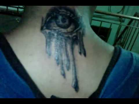 3d monster eye tattoo by loc.tattoo 0908.145.595