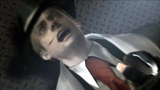 """getlinkyoutube.com-RE 4 (HD) PC Mod - """"Mafia"""" Leon All Death Scenes in Krauser's Knife Fight"""