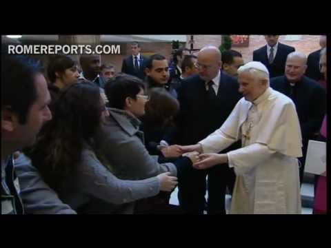 Pope visits prison in Rome