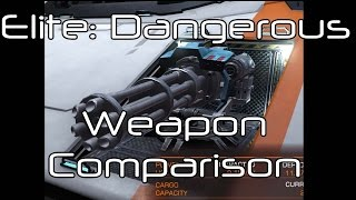 getlinkyoutube.com-Elite: Dangerous - Beam Lasers vs Pulse Lasers vs Cannons vs Multi-Cannons