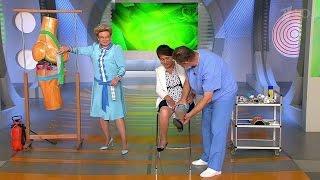 getlinkyoutube.com-Жить здорово! Лечим боль в колене за 10 минут без таблеток и уколов.