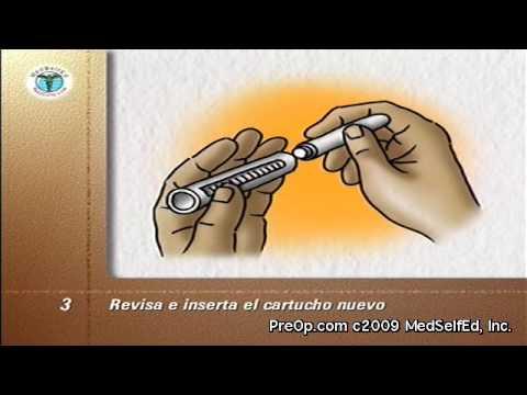 Diábetes - Bolígrafos de insulina - Diabetes