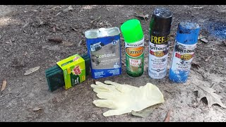 getlinkyoutube.com-DIY: Hydro Dipping using Spray Paint