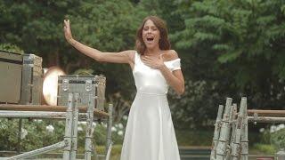 getlinkyoutube.com-Tini - La Nuova Vita di Violetta - Born to Shine - Music Video Backstage | HD
