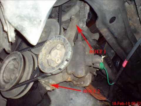 REPLACING THERMOSTAT 1994 VW PASSAT