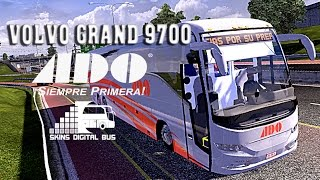 getlinkyoutube.com-EuroTruck Simulator 2 |Volvo |Grand9700 |ADO