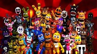 getlinkyoutube.com-FNaF World EXTRAS ★ All Animatronics, Bosses, NPCs & Enemies ★