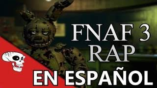 "getlinkyoutube.com-FIVE NIGHTS AT FREDDYS RAP ""ANOTHER FIVE NIGHTS"" ANIMACION EN ESPAÑOL"