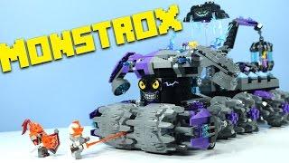 getlinkyoutube.com-LEGO NEXO Knights Jestro's Headquarters with Monstrox