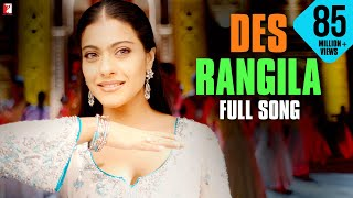Des Rangila - Full Song | Fanaa | Aamir Khan | Kajol | Mahalaxmi Iyer