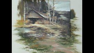 "getlinkyoutube.com-The Beauty of Oil Painting, Series 1, Episode 23, ""Grandpa´s Barn"""