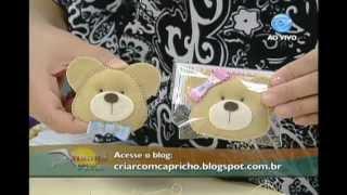 getlinkyoutube.com-Manhã Viva - Artesanato: Chaveiro de ursinho