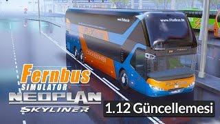 FERNBUS Simulator - Islak Islak Neoplan Skyliner DLC [1.12 Güncellemesi]